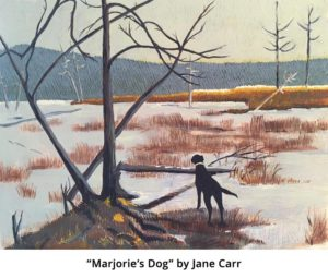 Marjorie's Dog; by Jane Carr