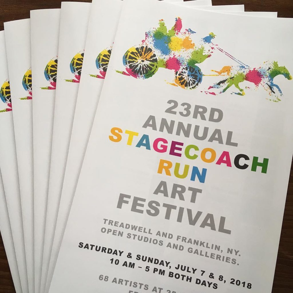 See our list of locations where you can find the Stagecoach Map  - or click to open or download the Stagecoach Run Art Festival Map (2 MB PDF)